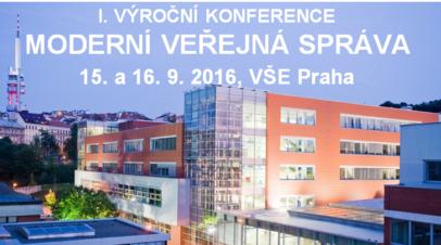 Konference Moderní veřejná správa 2016