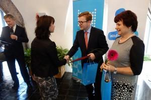10. Vítězům blahopřál náměstek ministra vnitra Petr Mlsna