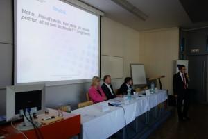 22 Panel věnující se systémové podpoře řízení kvality