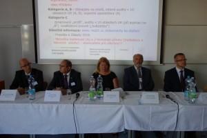 26 Panel představující příkaldy dobré praxe řízení kvality